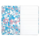 Dog Pink and Blue Camouflage Pattern Journals