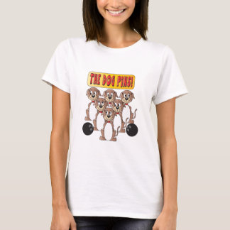 Dog Pins Bowling Pins T-Shirt