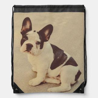 Dog Drawstring Backpack