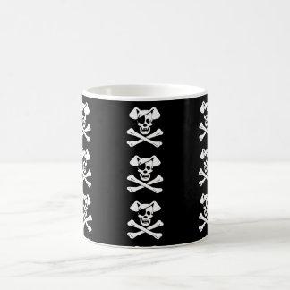 Dog Pirate Skulls White 11 oz Classic White Mug