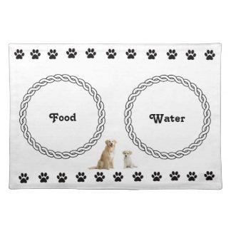 Dog place mat cloth placemat