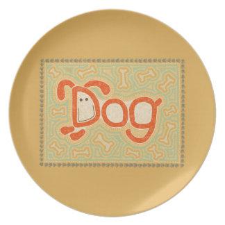 Dog Dinner Plates