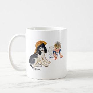 Dog Playing Dress Up Coffee Mug