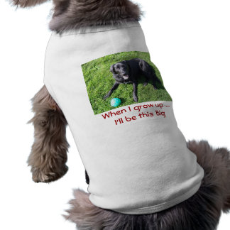 Dog playing with ball - happy Best Friends Shirt