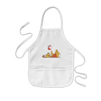 Dog Playing With Ball Tshirts and Gifts Kids' Apron
