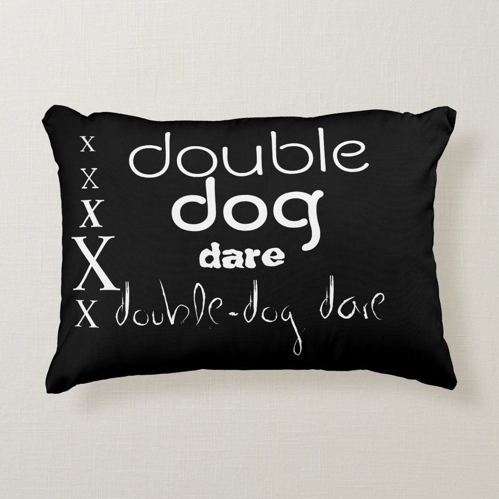 'Dog' Polyester Accent Pillow