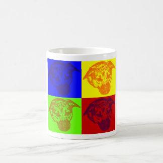 Dog Pop Art Morphing Mug