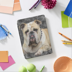 Apple 12.9' iPad Pro Cover with Bulldog Phone Cases design