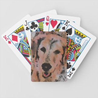 DOG PORTRAIT SANDY BICYCLE PLAYING CARDS