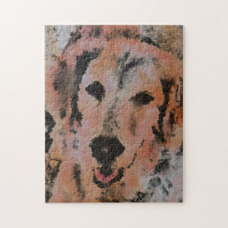 DOG PORTRAIT SANDY JIGSAW PUZZLE