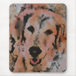 DOG PORTRAIT SANDY MOUSE PAD