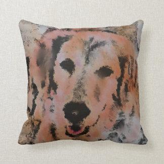 DOG PORTRAIT SANDY PILLOW