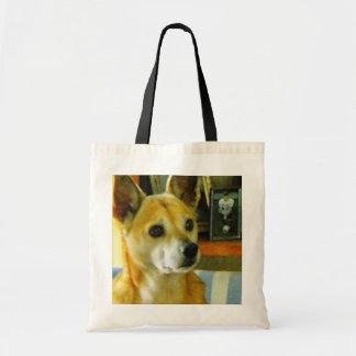 DOG PORTRAITS TOTE BAGS