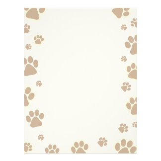 Dog Prints Letterhead