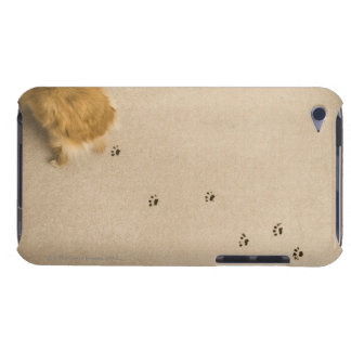 Dog Prints on Carpet Case-Mate iPod Touch Case