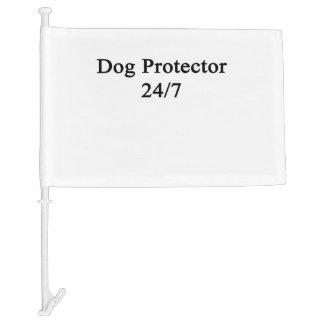 Dog Protector 24/7 Car Flag