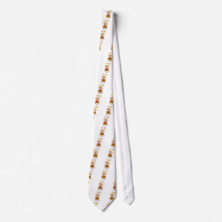 Dog Puppies Lovers Bees Don't Worry, Bee Happy! Tie