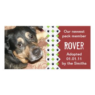 Dog/Puppy Adoption Announcement