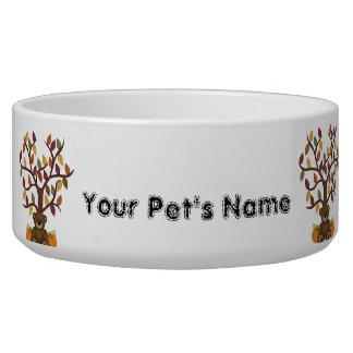 Dog Puppy Food Bowl or Water Dish Dog Bowls