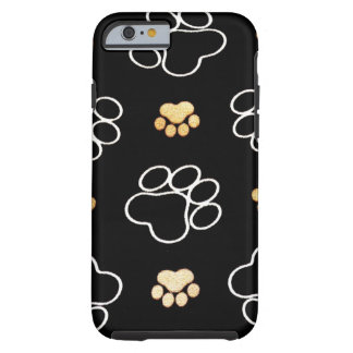 Dog Puppy Paw Prints Gifts for Dog Lovers Tough iPhone 6 Case