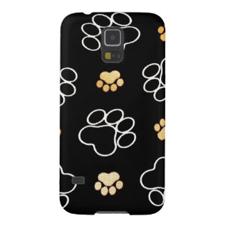 Dog Puppy Paw Prints Gifts for Dog Lovers Galaxy S5 Cover