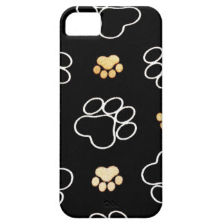 Dog Puppy Paw Prints Gifts for Dog Lovers iPhone SE/5/5s Case