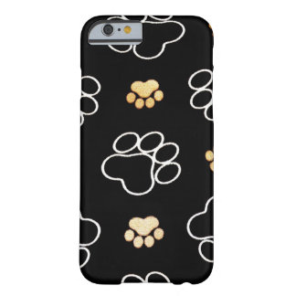 Dog Puppy Paw Prints Gifts for Dog Lovers iPhone 6 Case