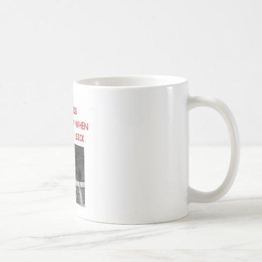 dog racing coffee mug