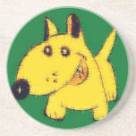 Dog Rauff Drink Coaster