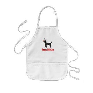 Dog Reindeer Apron