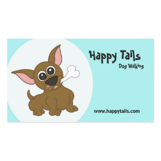 Dog related business card