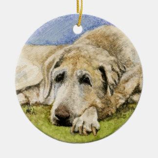 Dog Remembrance Ornament /Labrador