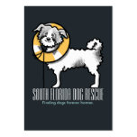 Dog Rescue Life Preserver Yellow Large Business Card