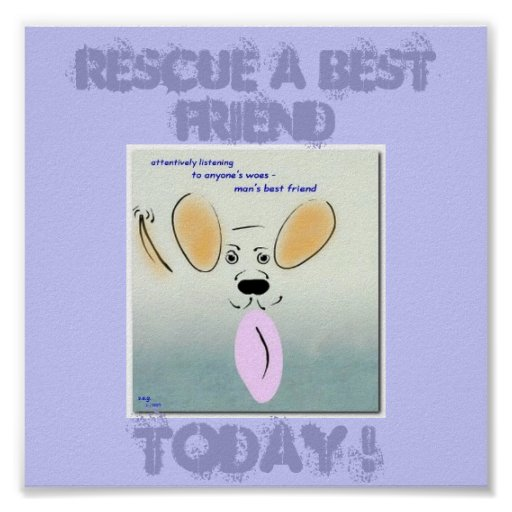 Dog Rescue Poster