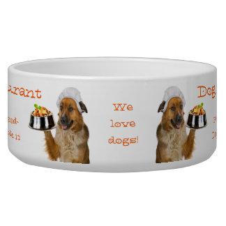 Dog Restaurant Bowl