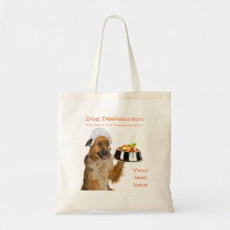 Dog Restaurant Tote Bag