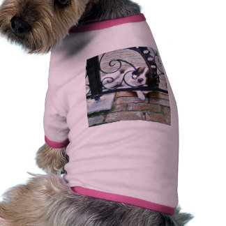 Dog Resting In Back Yard Doggie T-shirt