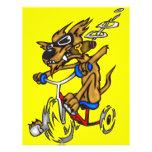 Dog Riding Bike Flyers