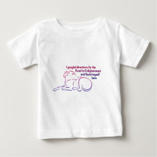 Dog Road to Enlightenment Baby T-Shirt