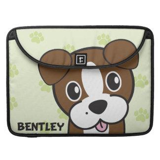 Dog Rockets Cartoons™ - Bentley MacBook Pro Sleeve