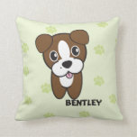 Dog Rockets Cartoons™ - Bentley Pillow