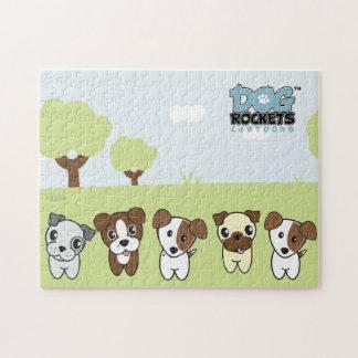Dog Rockets Cartoons™ - Dog Pack Jigsaw Puzzle