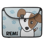 Dog Rockets Cartoons™ - Remi Sleeves For MacBook Pro