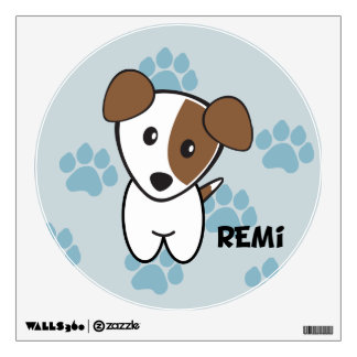 Dog Rockets Cartoons™ - Remi Wall Decal