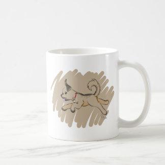 Dog Romping Happily Coffee Mug