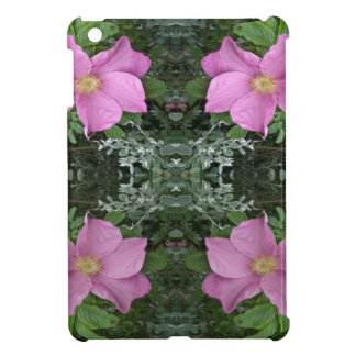 Dog roses in reflect cover for the iPad mini