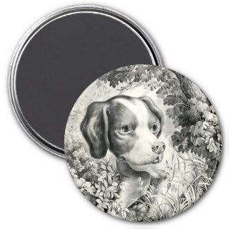 Dog Round Magnet