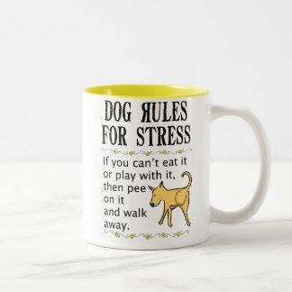 Dog Rules for Stress Mugs