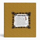 Dog rules - Pet Photograph Binder