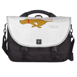 Dog Running Laptop Computer Bag